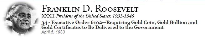 Executive Order 6102