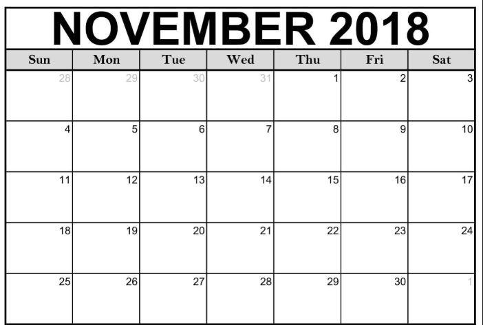November trades
