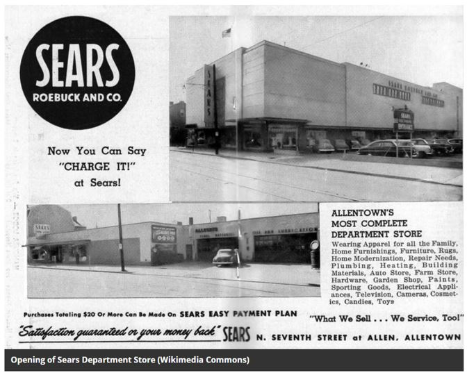 opening of Sears store