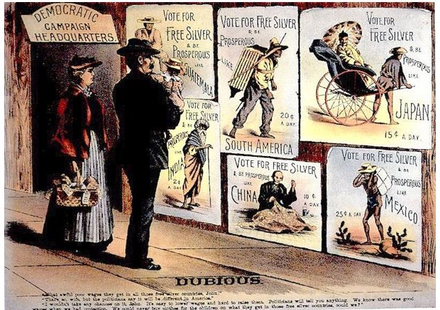 monetary policy was an important issue in the Presidential election of 1896